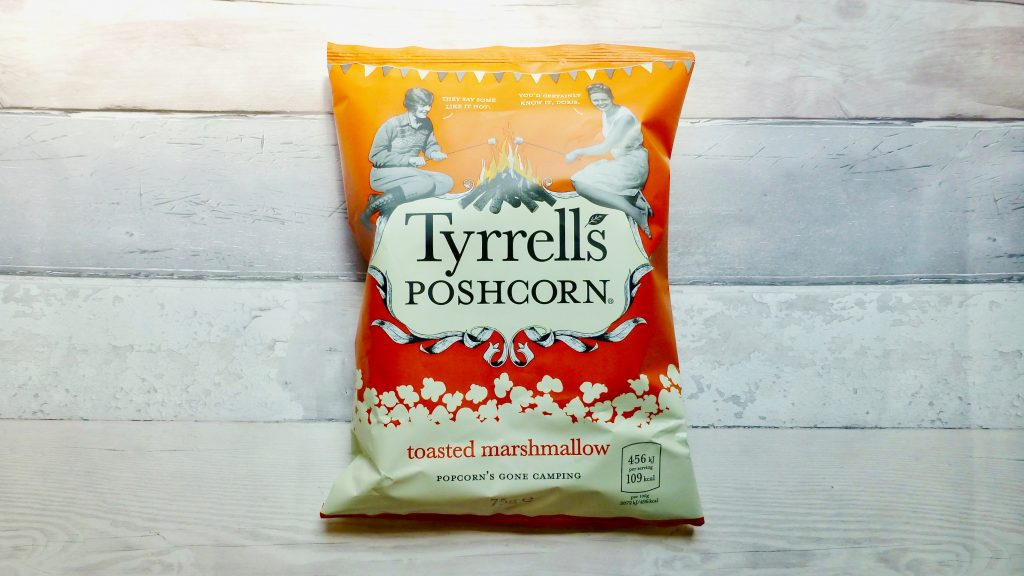 Popcorn's Gone Glamping with Toasted Marshmallow Poshcorn