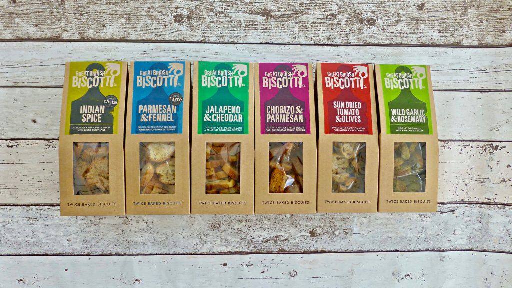 Great British Biscotti Co. Savoury is the Name of the Game