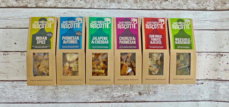 Great Brisitsh Biscotti Co. Savoury Biscotti
