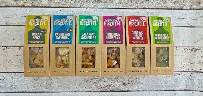 Great Brisitsh Biscotti Co. Savoury Biscotti
