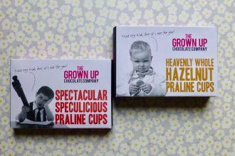 The Grown Up Chocolate Company Praline Cups