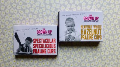 The Grown Up Chocolate Company Praline Cups