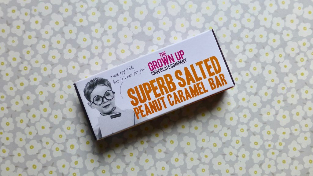 The Grown Up Chocolate Company Superb Salted Peanut Caramel