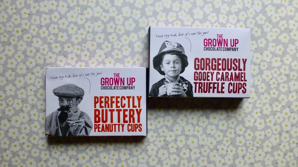 The Grown Up Chocolate Company Truffle & Peanutty Cups