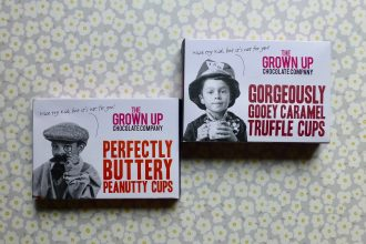 The Grown Up Chocolate Company Truffle Cups and Peanutty Cups