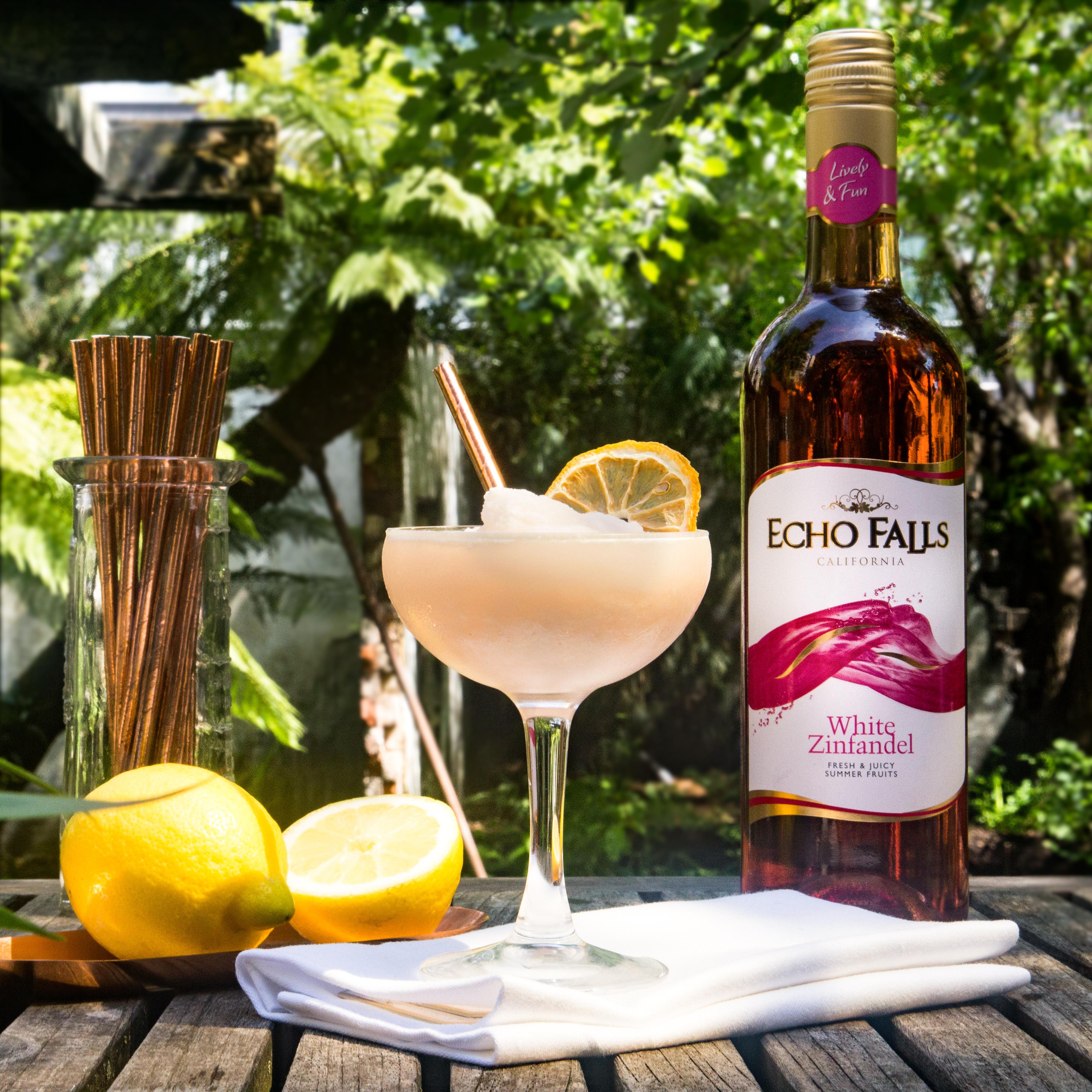 Echo Falls Frosé Lemon Scream Cocktail