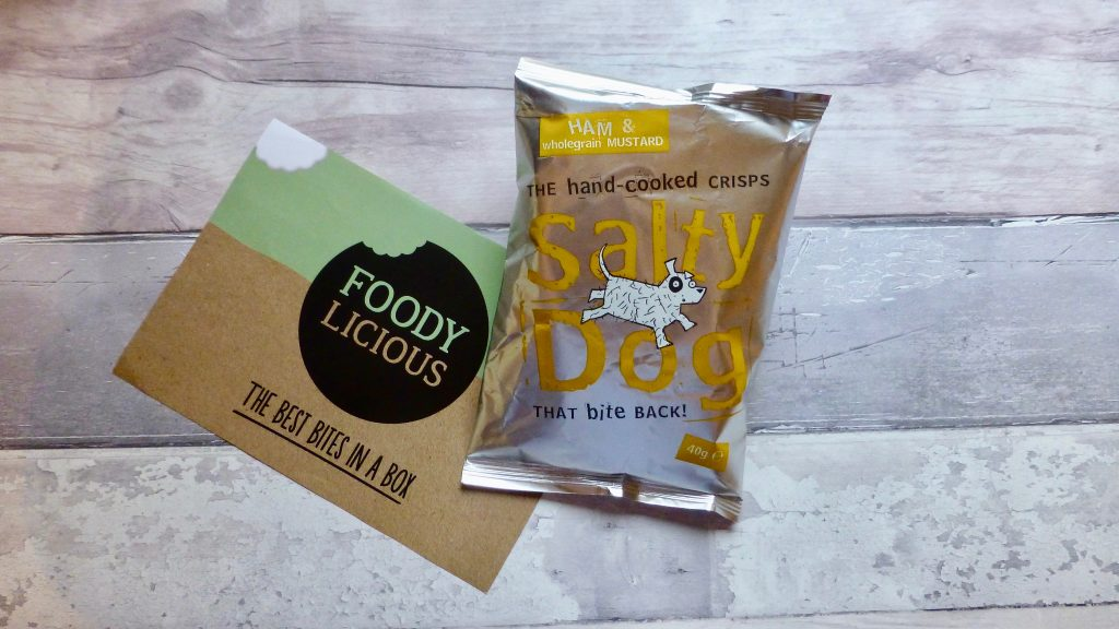 Salty Dog Ham & Wholegrain Mustard Crisps