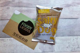 Salty Dog Ham & Mustard Crisps