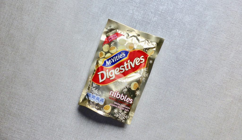 McVitie's White Chocolate Nibbles