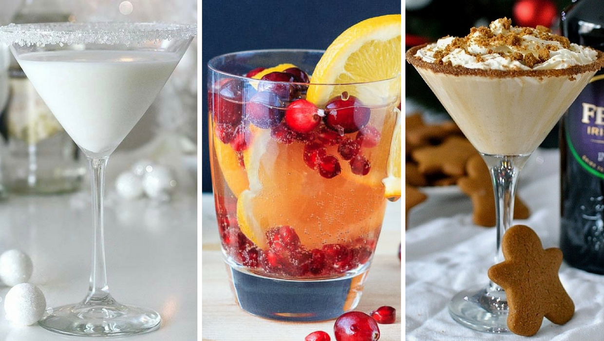 Festive Cocktails to Make this Christmas