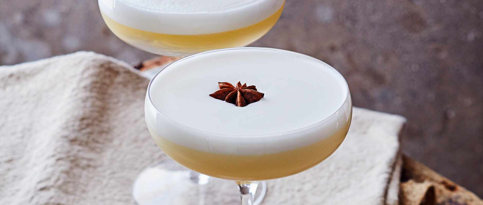 Spiced Pear Festive Cocktail