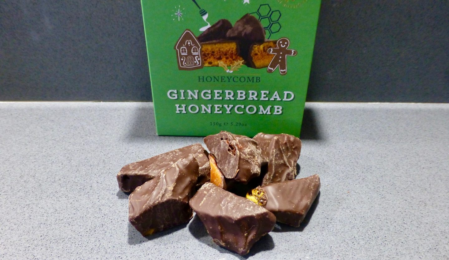 Buttermilk Gingerbread Honeycomb Confectionary