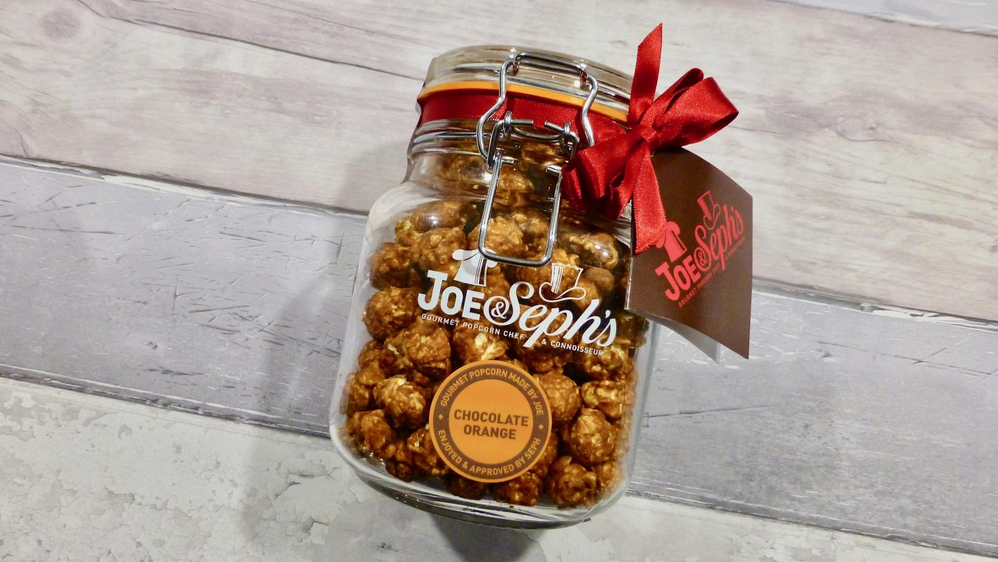Joe & Seph's Chocolate Orange Popcorn
