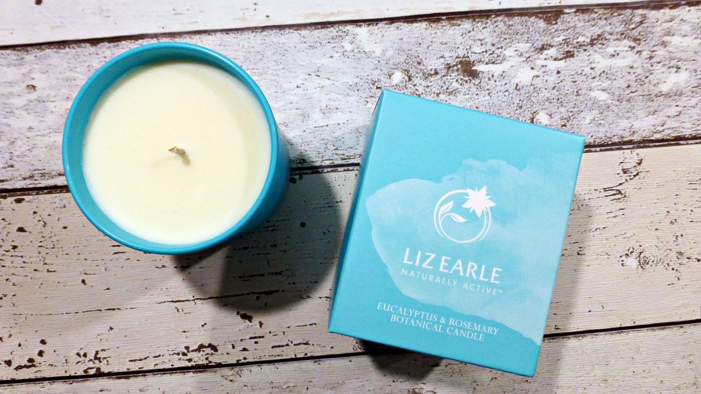 Liz Earle Eucalyptus and Rosemary Candle