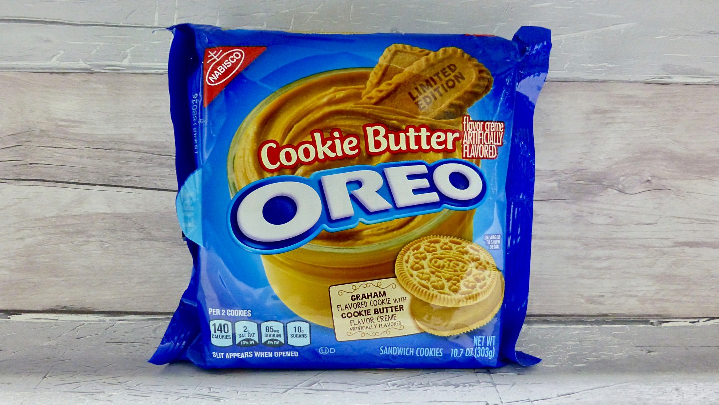 Limited Edition Cookie Butter Oreos