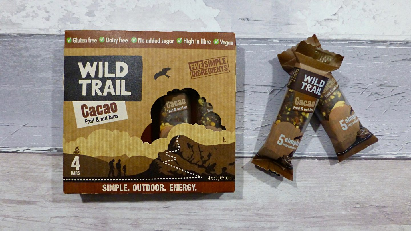 Wild Trail Cacao Fruit and Nuts Bars