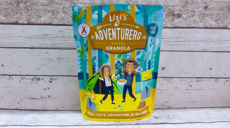Lizi's Adventurers Banana Granola