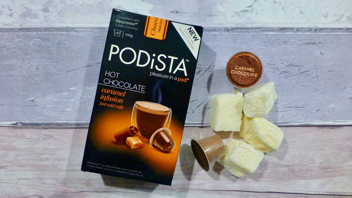 Podista Caramel Hot Chocolate