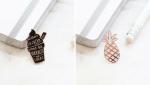 Old English Company Enamel Pins