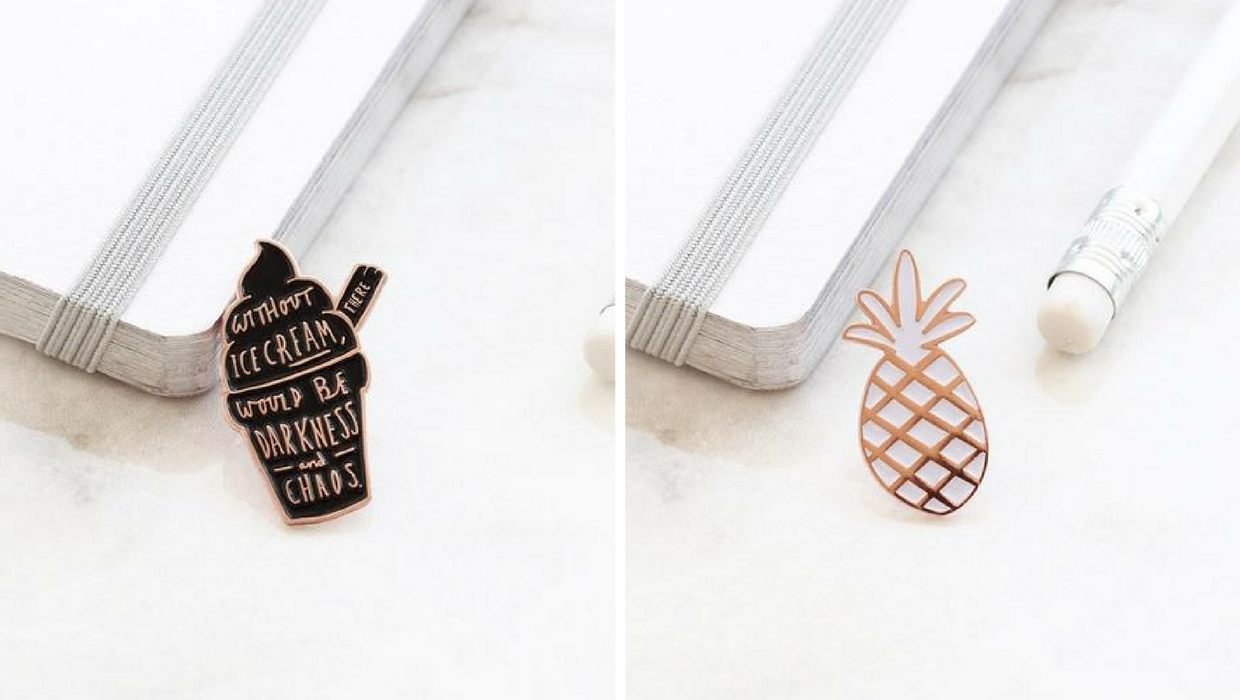 Win: Old English Company Enamel Pins*