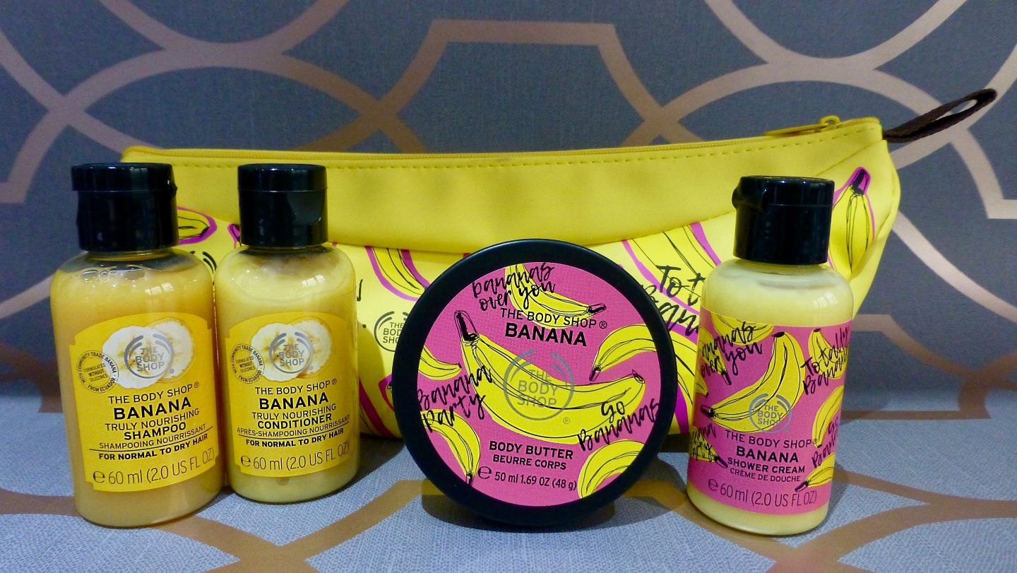 The Body Shop Banana Limited Edition Range