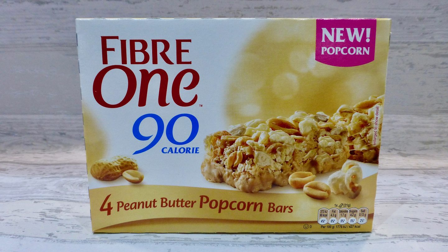 Fibre One Peanut Butter Popcorn Bars