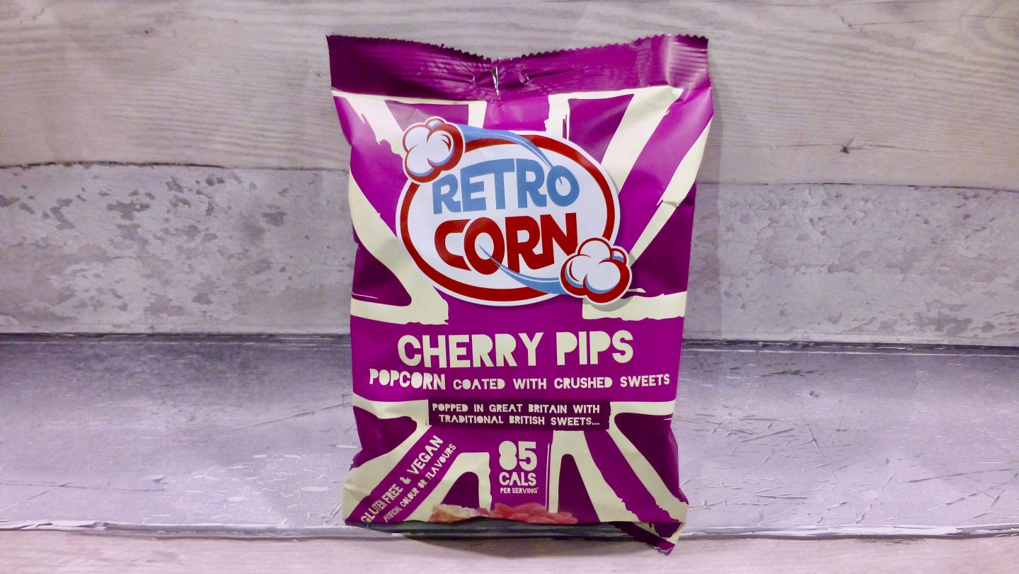 Retro Corn Cherry Pips Popcorn