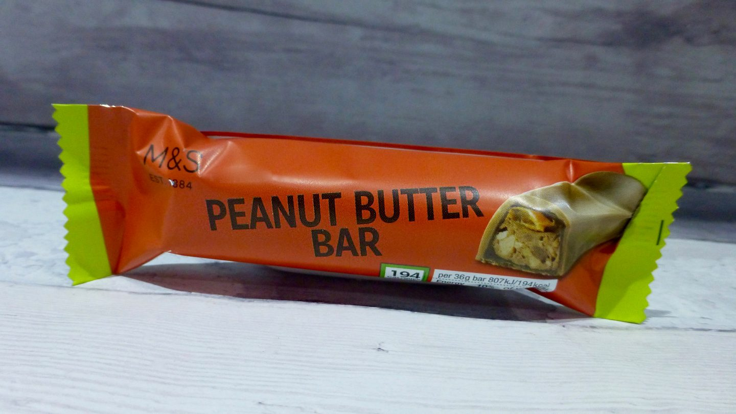 M&S Peanut Butter Bar