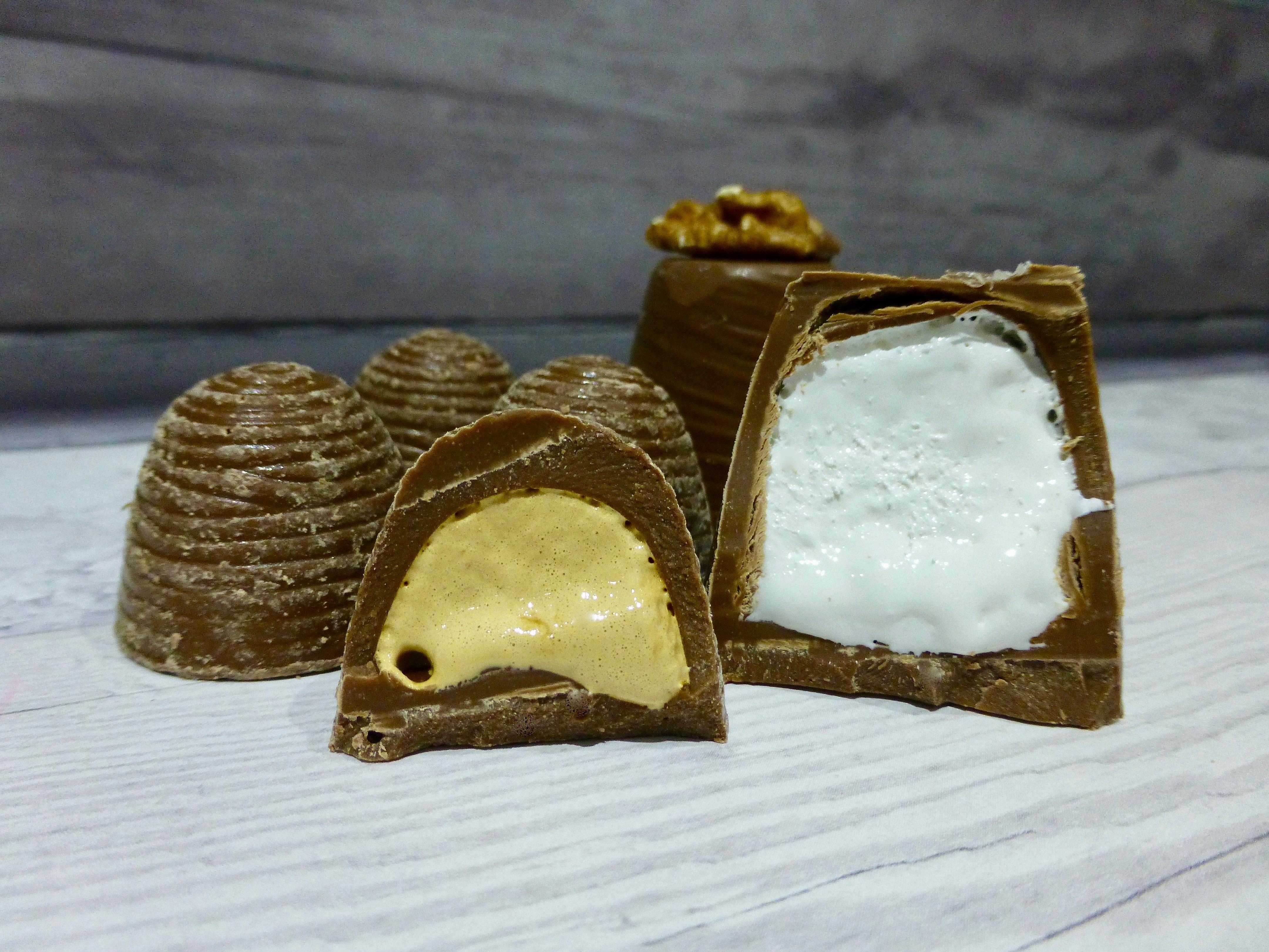M&S Walnut Whips vs Mini Salted Caramel Whips