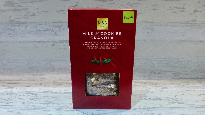 M&S Milk and Cookies Granola