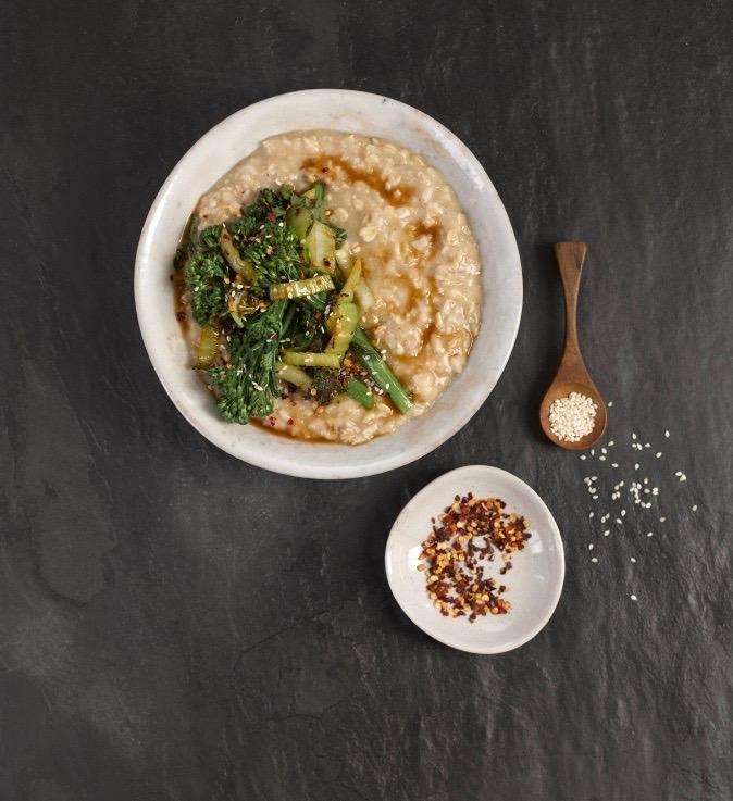 Sesame Teriyaki Savoury Porridge