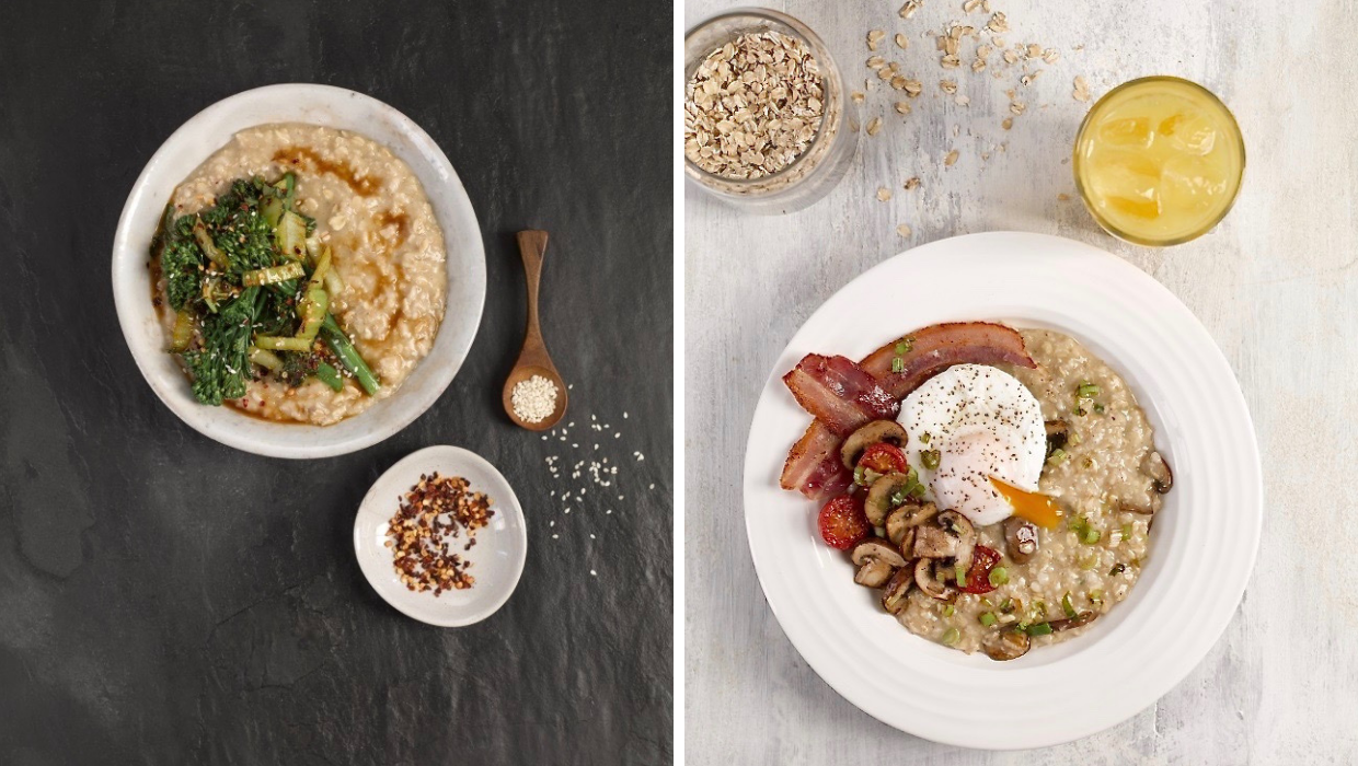 World Porridge Day: Porridge with a Savoury Twist?