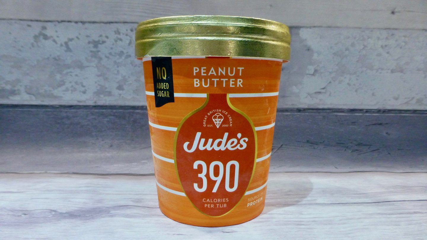 Jude's Peanut Butter Ice Cream