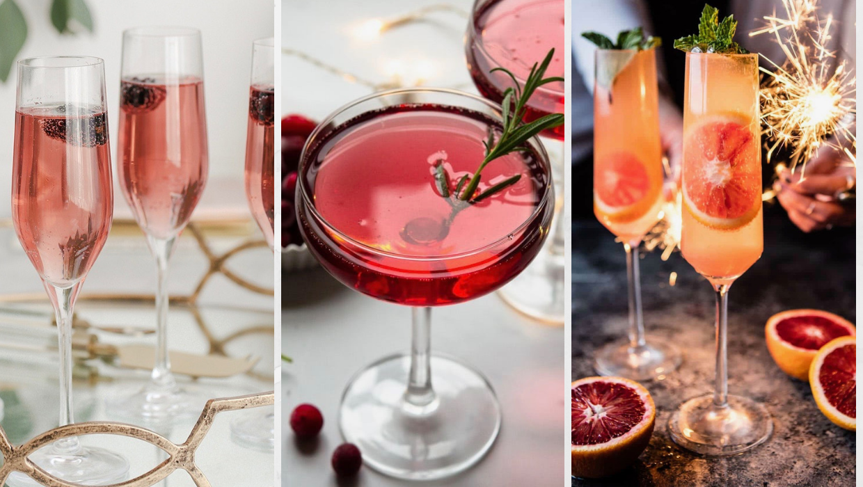 Party Seasons: Champagne & Prosecco Cocktails
