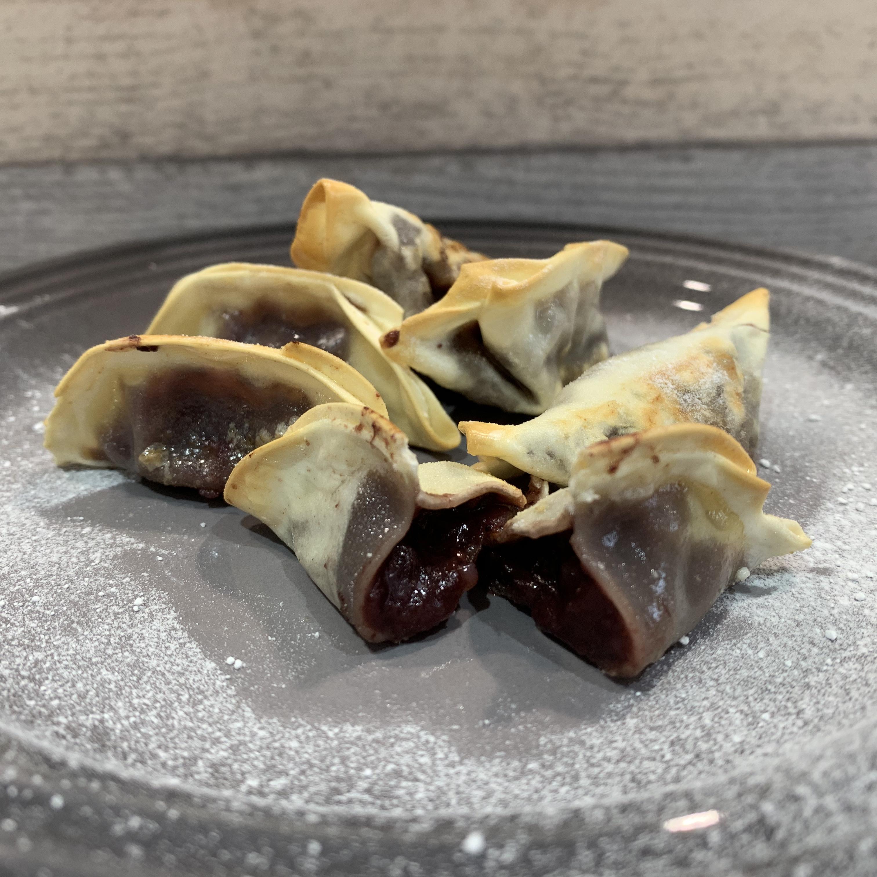 Itsu Very Berry Dessert Dumplings Cooked