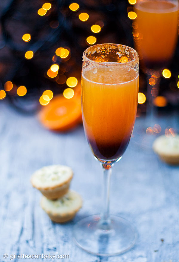 mince-pie-mimosa-christmas-cocktail (Champagne & Prosecco Cocktails )