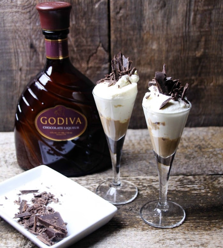 Must Have Drinks This Galentine's Day Chocolate Love Cheesecake Cocktail