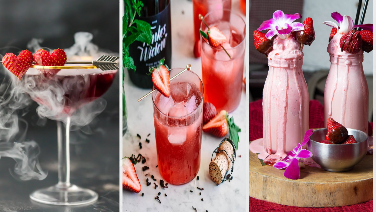 Celebrating Galentine's Day with these Fabulous Drinks