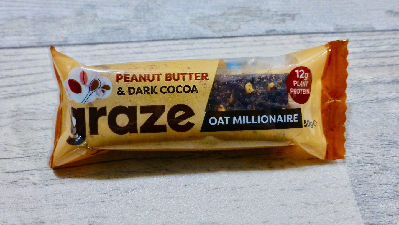 Graze Oat MillionairePeanut Butter and Dark Cocoa