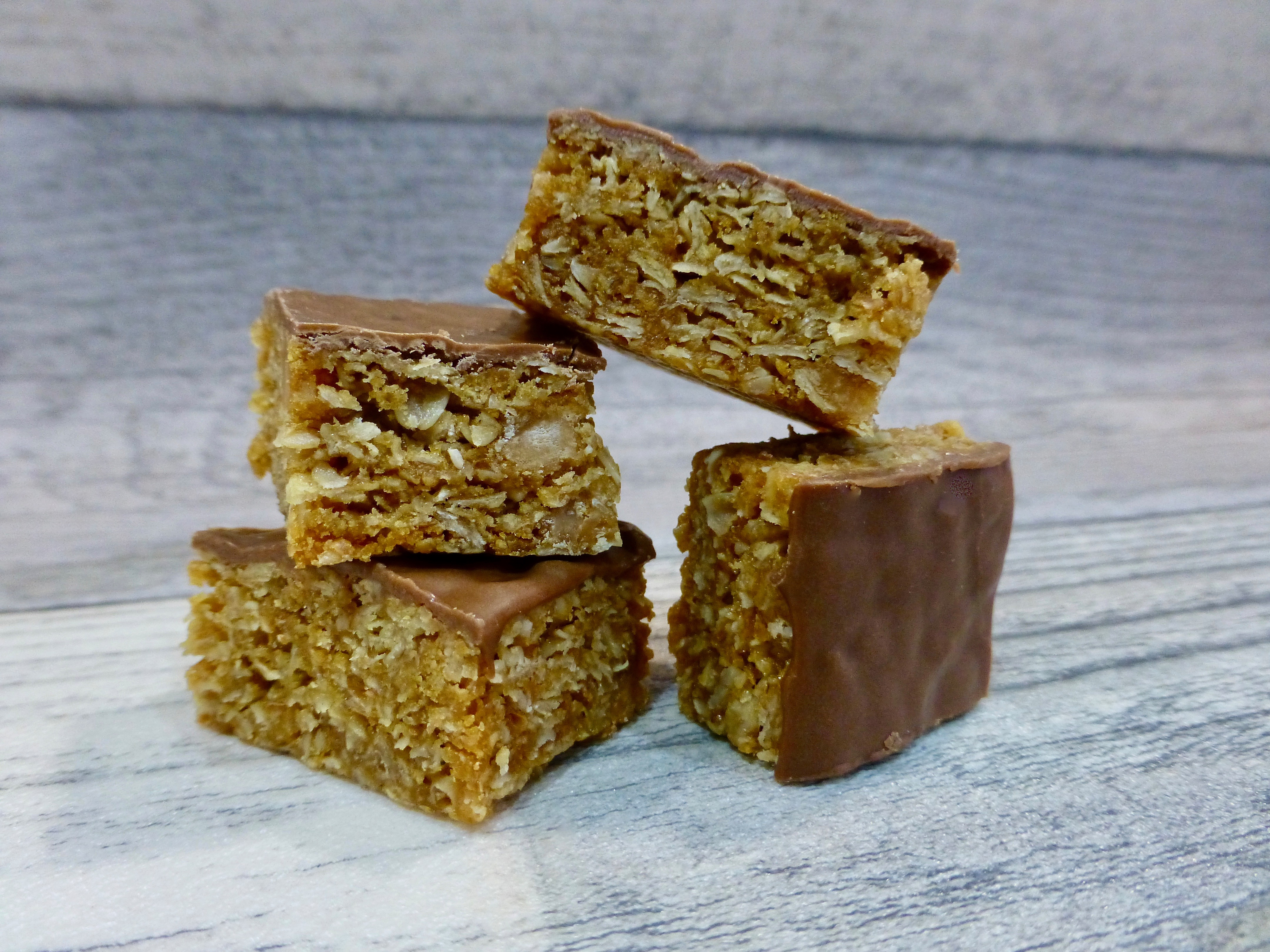Hobnobs Peanut Butter Fudge Flapjacks