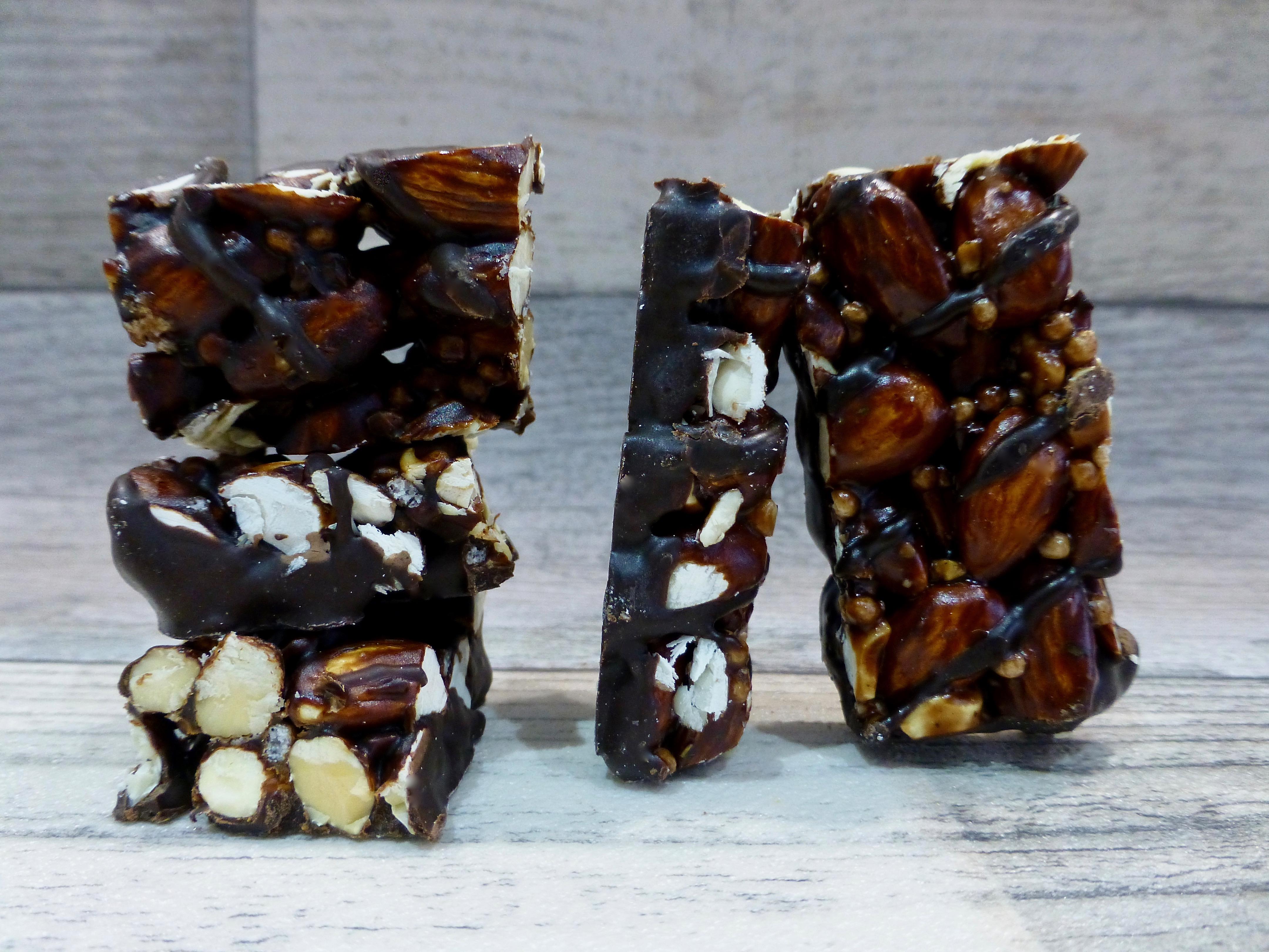KIND Mint Chocolate Almond and KIND Dark Chocolate Mocha