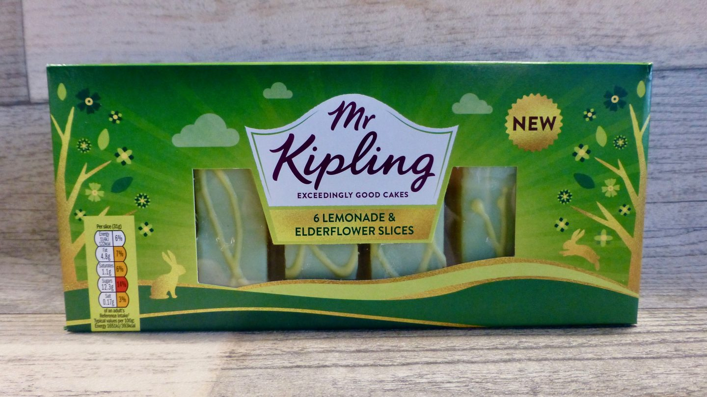 Mr Kipling Lemonade and Elderflower Cake Slices