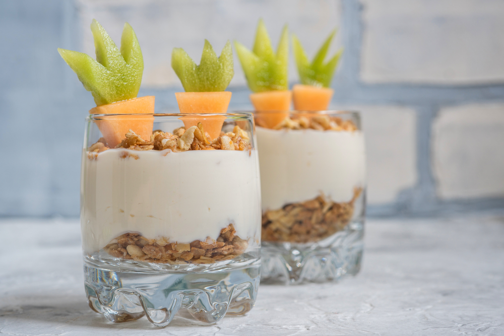 Hop into Easter with White's Oats - Eastertastic Carrot Topped Granola Greek Yog With Honey and Granola