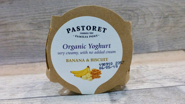 Pastoret Banana and Biscuit Yoghurt