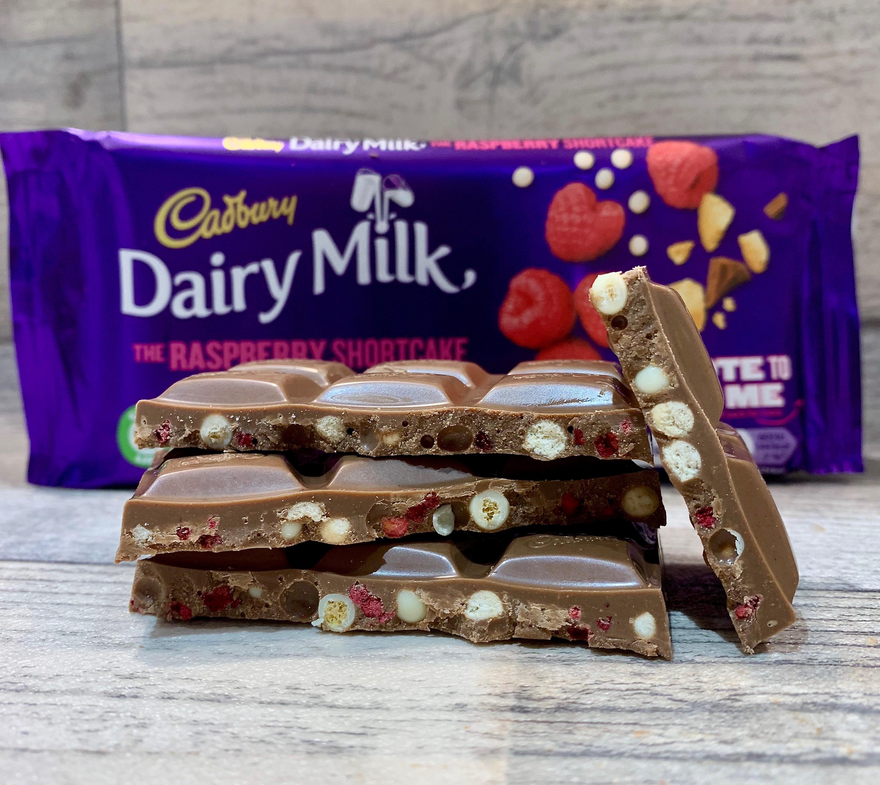 Cadbury Dairy Milk Raspberry Shortcake Bar