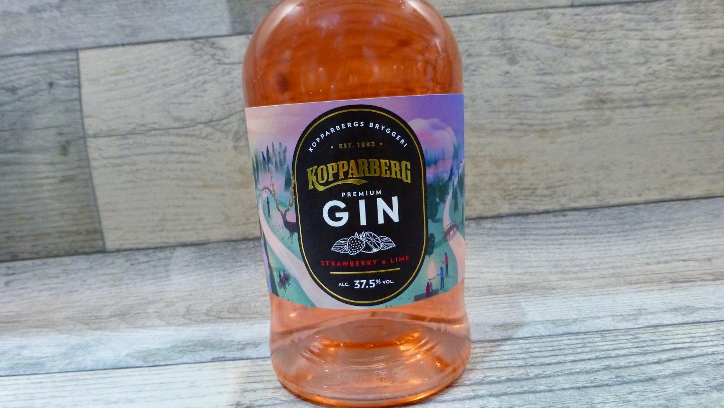 Kopparberg Strawberry and Lime Premium Gin