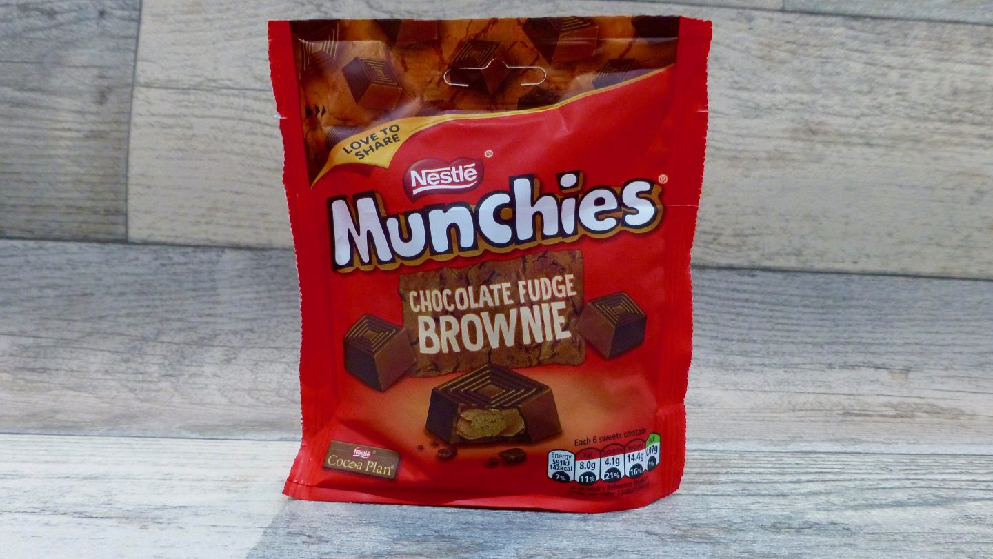 Chocolate Fudge Brownie Munchies