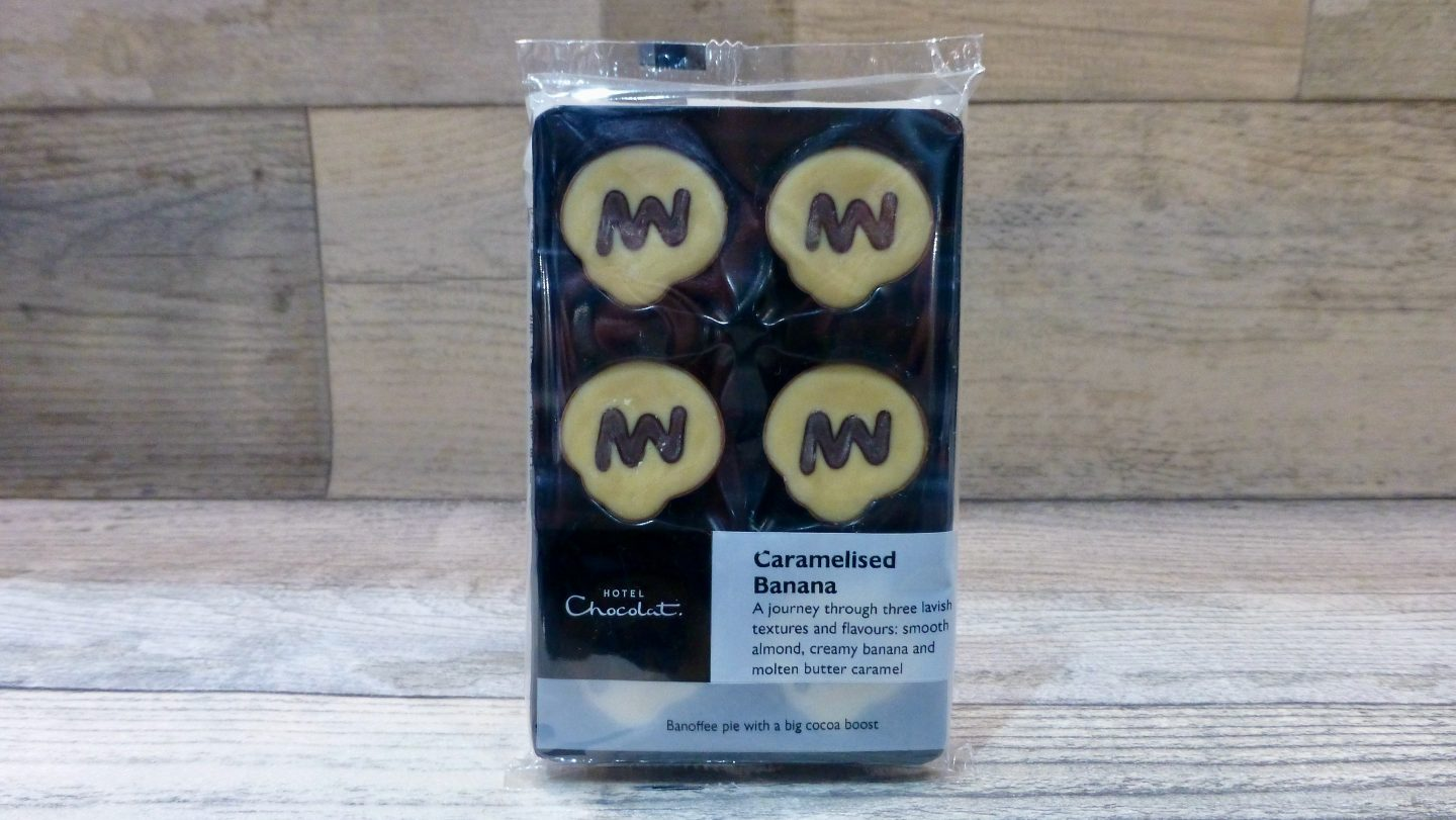 Hotel Chocolat Caramalised Banana Selector