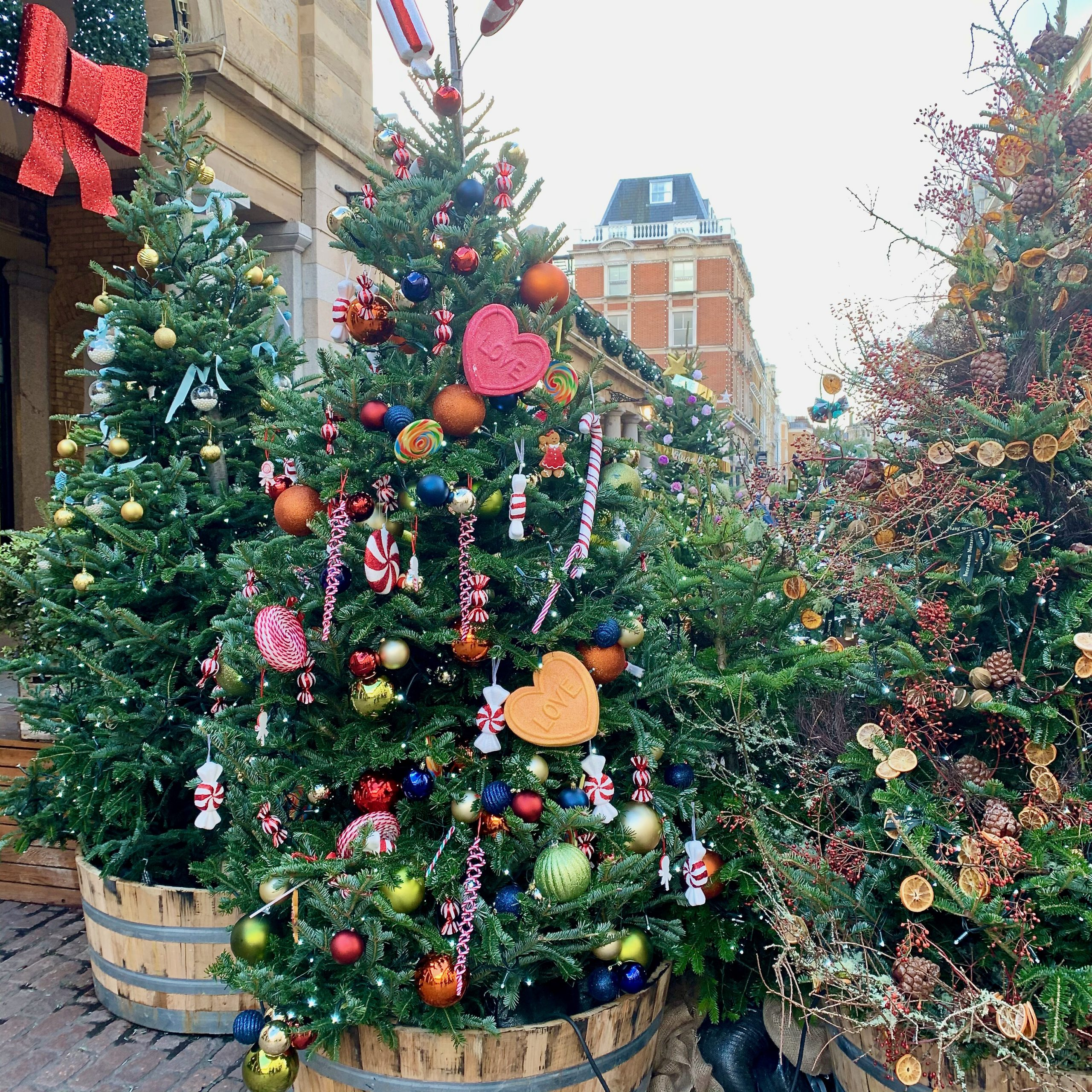Covent Garden Christmas Trees