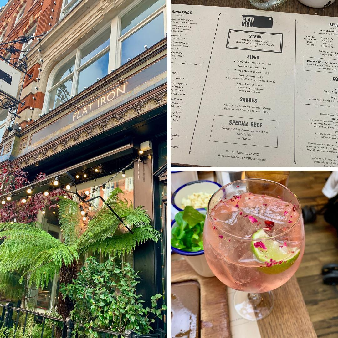 Flat Iron Steak Restaurant Covent Garden